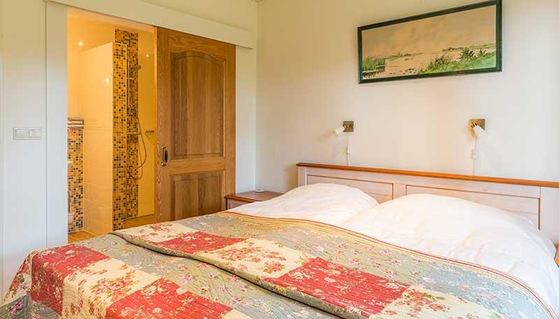 2 persoons kamer, B&B Drenthe, overnachten Pieterpad, Bed and breakfast Zuidlaren